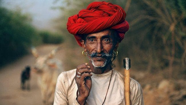 Steve McCurry tulband portait