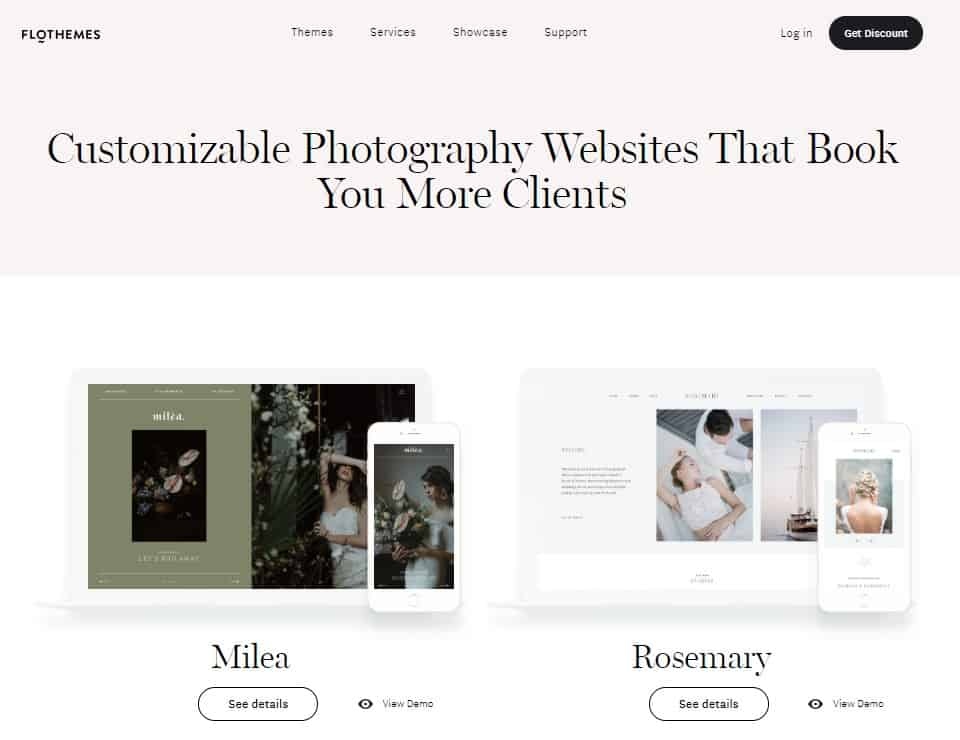 Photography Website Templates And Themes By Flothemes