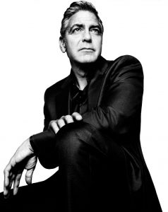 Portrait Of George Clooney By Platon