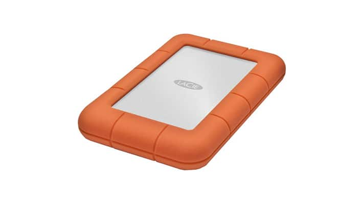 Lacie external hard drive to store your images